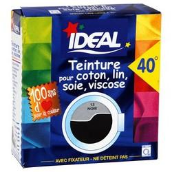 Ideal Teinture Tissus Liquide Noir 75Ml