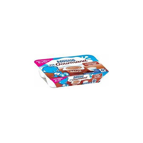 Pack 6X60G Petit Gourmand Choco Nestle