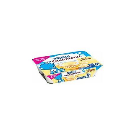 Pack 6X60G Petit Gourmand Vanille Nestle