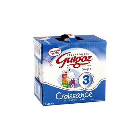 Guigoz Croissance 6X1L
