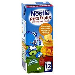 200Ml Smoothie Banane Mangue Ananas Nestle
