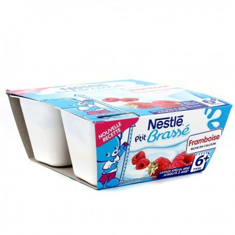 Pack 4X100G P Tit Brasse Framboise Nestle
