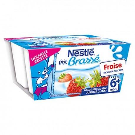 Pack 4X100G P Tit Brasse Fraise Nestle