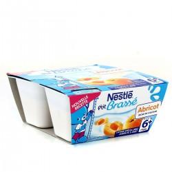 Pack 4X100G P Tit Brasse Abricot Nestle