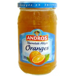 Andros Preparation Allegee Orange Bocal 350G