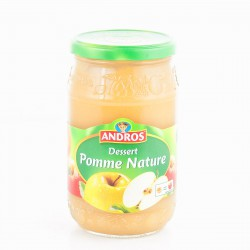 Andros Compote Pommes Bocal 750G