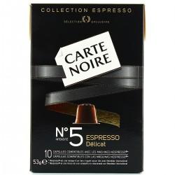 53G Capsule Espresso 5 Carte Noire