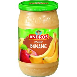 750G Compote Pomme Banane Andros