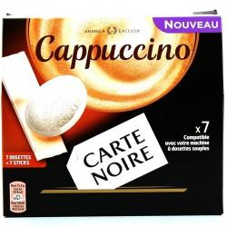 109G 7 Doses Cappucino Carte Noire