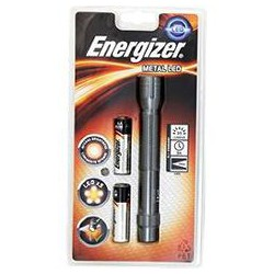 Lampe Torche Metal Led 2Aa