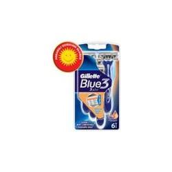 Gillette Blue Iii 6 S Disp Razor 12