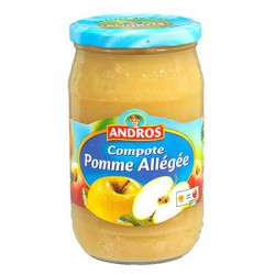 Andros Compote Pommes Allegee 730G